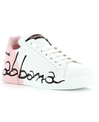 Portofino Light leather sneakers DOLCE & GABBANA