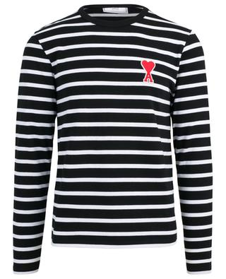 Ami de Coeur striped jersey long sleeved T-shirt AMI
