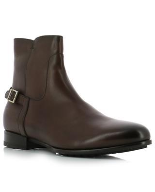 Gefütterte Stiefel aus Leder SANTONI
