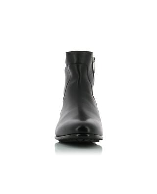 Padded leather ankle boots SANTONI