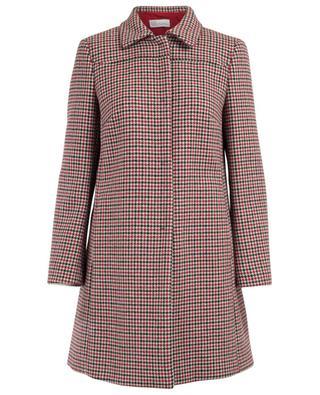 Manteau à carreaux en laine mélangée RED VALENTINO