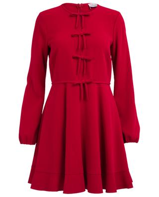 Frisottine short acetate and viscose dress RED VALENTINO