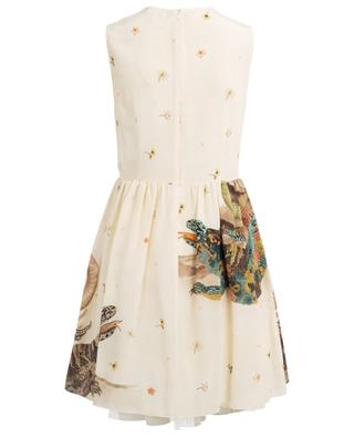 Printed silk dress RED VALENTINO