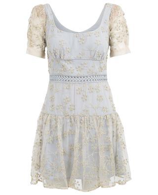 Kurzes Kleid aus Tüll SELF PORTRAIT