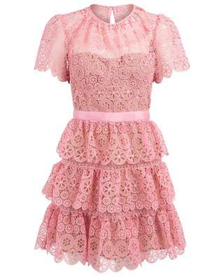 Kurzes Kleid aus Spitze SELF PORTRAIT