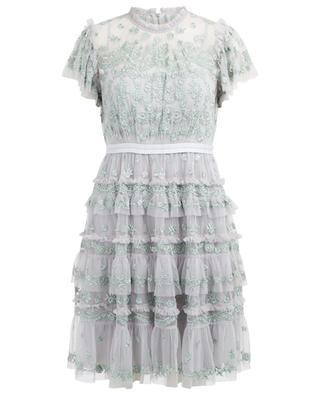 Kurzes Kleid mit Stickereien Darcy NEEDLE &THREAD