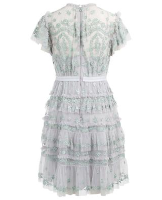 Darcy short embroidered dress NEEDLE &THREAD