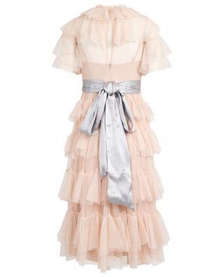 Scallop tulle midi dress NEEDLE &THREAD