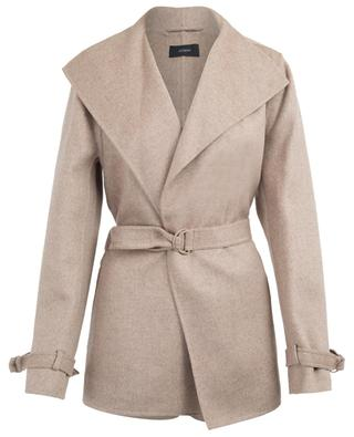 New Lima short wool and cashmere coat JOSEPH