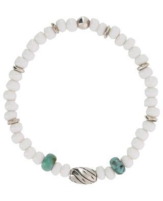 Glass and turquoise bracelet MOMENTZ