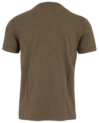 T-Shirt en coton flammé Bysapick AMERICAN VINTAGE