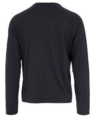 T-Shirt manches longues en coton flammé Bysapick AMERICAN VINTAGE
