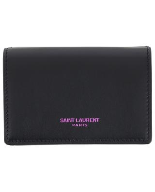 Brieftasche aus Leder SAINT LAURENT PARIS