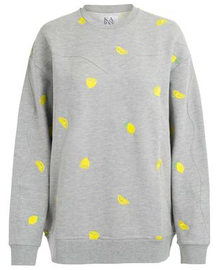 Embroidered cotton sweatshirt ZOE KARSSEN