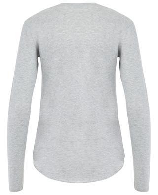 T-Shirt aus Baumwolle und Kaschmir MAJESTIC FILATURES