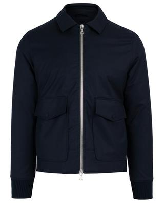 Patrick water repellent wool jacket OFFICINE GENERALE
