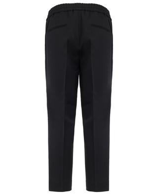 Pantalon ajusté en laine mélangée Hockney DSQUARED2