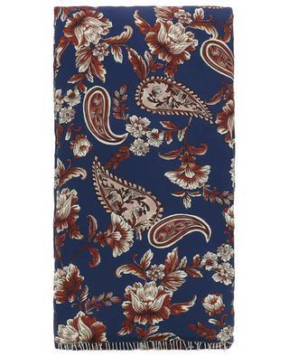 Gesteppter Schal aus Seide Floral Chain 3.1 PHILIPP LIM