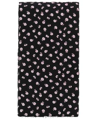 Floral Chain quilted silk scarf 3.1 PHILIPP LIM