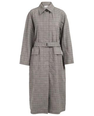 Check wool oversize trench coat 3.1 PHILIPP LIM
