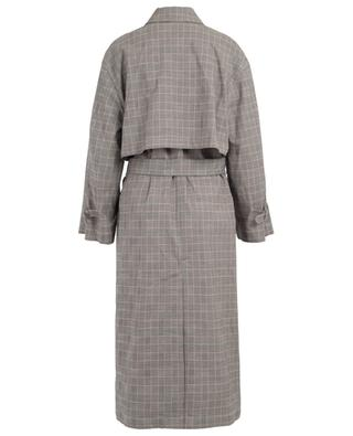 Check wool oversize trench coat 3.1 PHILIPP LIM