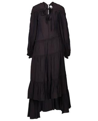 Longue robe en viscose avec lavallière 3.1 PHILIPP LIM