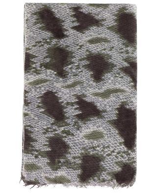 Schal aus Kaschmir und Wolle Ghytonelba HEMISPHERE
