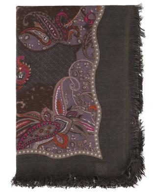 Schal aus Kaschmir Paisley HEMISPHERE