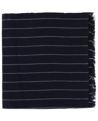 Gessato striped cashmere scarf 19 ANDREA'S 47