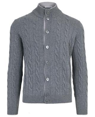 Virgin wool and cashmere blend cardigan GRAN SASSO