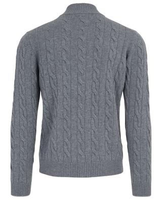 Virgin wool and cashmere blend cardigan GRAN SASSO