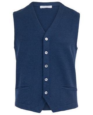Virgin wool waistcoat GRAN SASSO