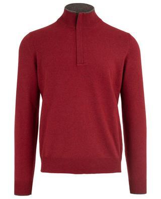 Virgin wool and cashmere blend jumper GRAN SASSO