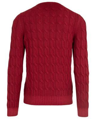 Cashmere cable knit jumper GRAN SASSO