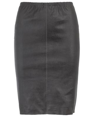 Brizana short stretch leather skirt MAX ET MOI
