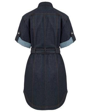 Kurzes Kleid aus Denim BARBARA BUI
