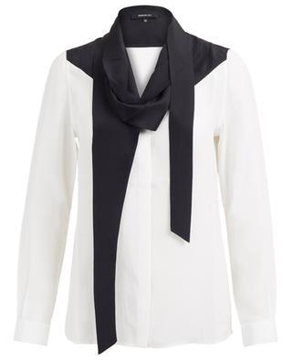 Silk shirt with pussy bow BARBARA BUI