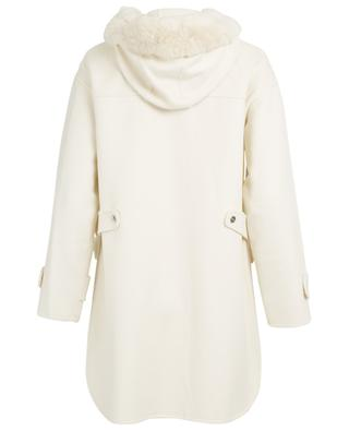 Rounda wool and shearling duffle coat MAX ET MOI