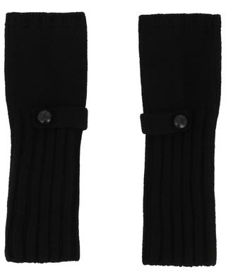 Run merino wool and cashmere mittens MAX ET MOI