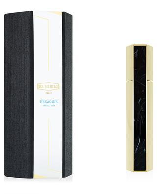 Reise-Etui für Parfüm Hexagone Black Edition EX NIHILO