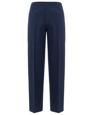 Virgin wool blend wide leg trousers PIAZZA SEMPIONE
