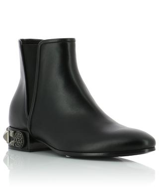 Napoli leather ankle boots DOLCE & GABBANA