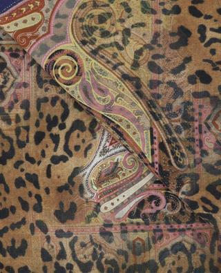 Halstuch aus Wolle und Seide Bombay ETRO