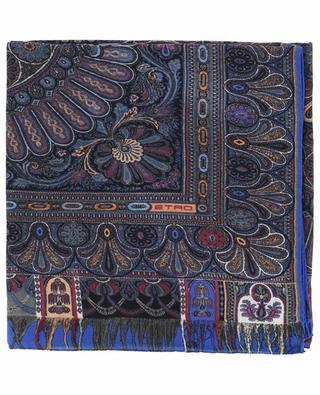 Foulard en laine et soie Bombay ETRO