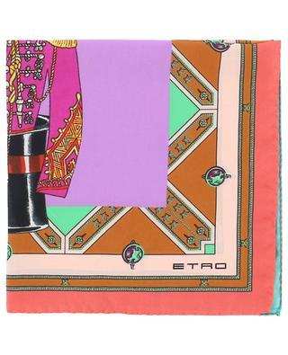 Bangalore small silk square ETRO