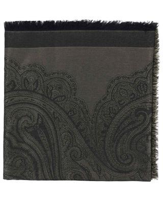 Foulard en soie, viscose et laine ETRO