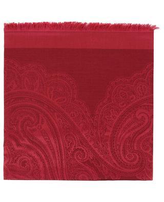 Foulard en soie et laine ETRO