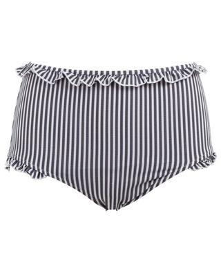 The Leslie high-waisted bikini bottom SOLID & STRIPED