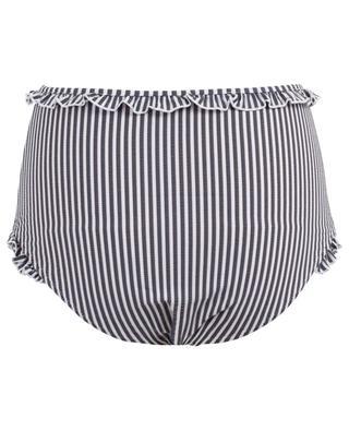 Bas de bikini taille haute The Leslie SOLID & STRIPED