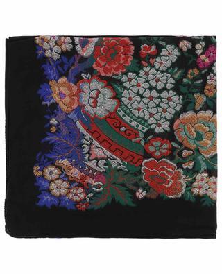 Foulard en laine et soie mélangées ETRO